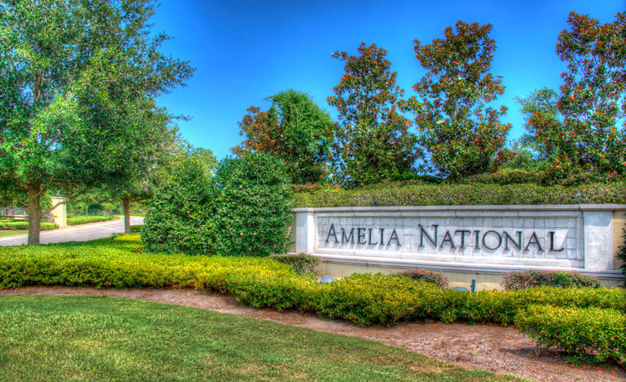 Amelia National Entrance